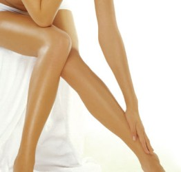 Home Permanent Hair Removal - Woman Legs