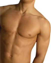 Male Electrolysis Hair Removal in Wuhan - Man Chest
